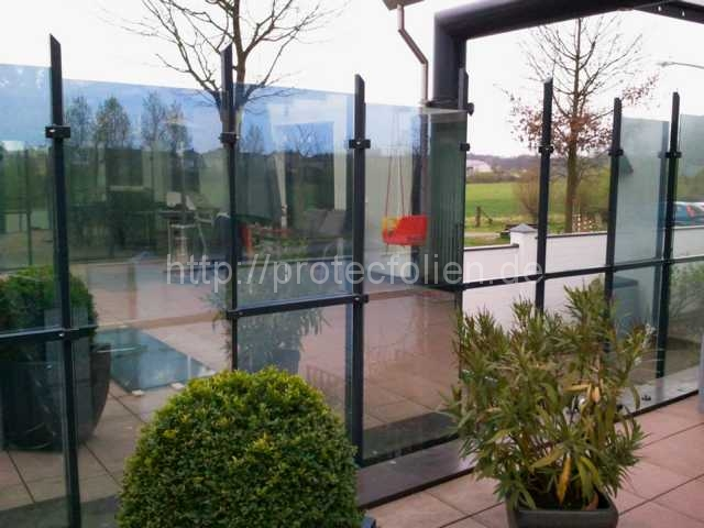 spiegelfolie f r fenster in hochwertiger qualit t protecfolien. Black Bedroom Furniture Sets. Home Design Ideas