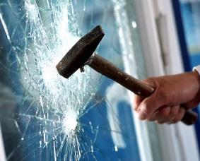 Sicherheitsfolie Einbruchschutzfolie für Fenster und Glas